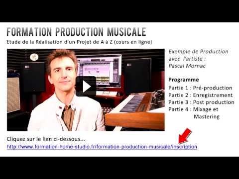 Formation Production Musicale (cours en ligne) - Extrait Partie 1