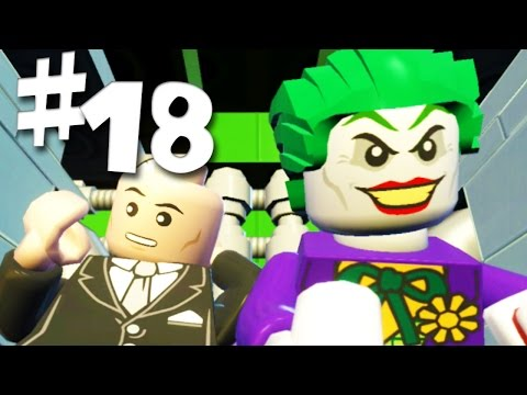 Road To Arkham Knight - Lego Batman 2 Gameplay Walkthrough Part 18 - Down To Earth