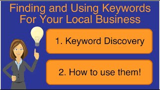 Local Seo: How To Find And Use Local Keywords