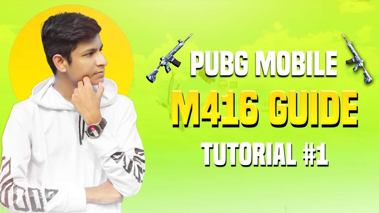 🇮🇳 How To Use M416 + 6x Scope For Beginners #1 - Tutorial And Guide - Legend X