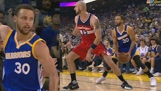 Stephen Curry Gives Gortat a Map! John Wall Fined 15K! Wizards vs Warriors
