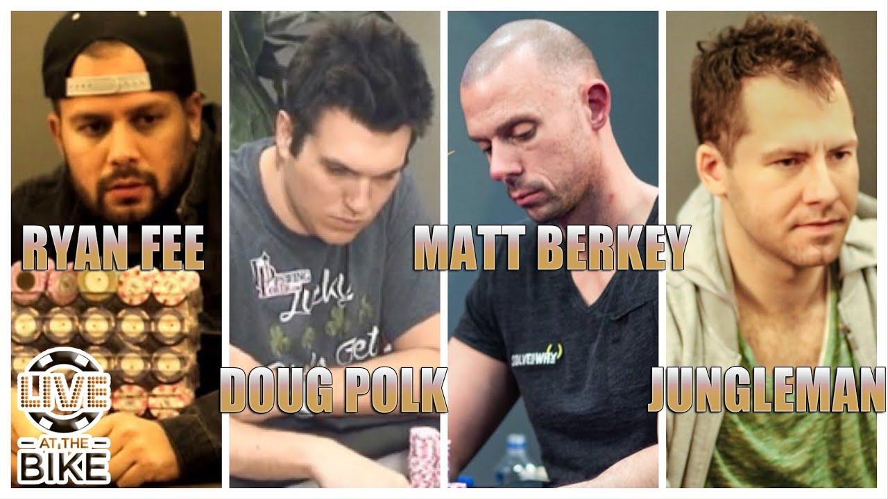Jungleman, Doug Polk, Matt Berkey, Ryan Fee  - $25/50/100 NLH Poker Cash Game - FULL EPISODE