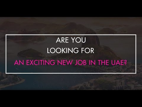 Job Opportunities in the UAE