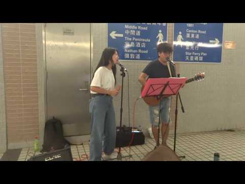 Love Yourself (Justin Bieber) | Cover by CharlieChan x Mantik | TST Exit L5 Busking (2018.05.12)