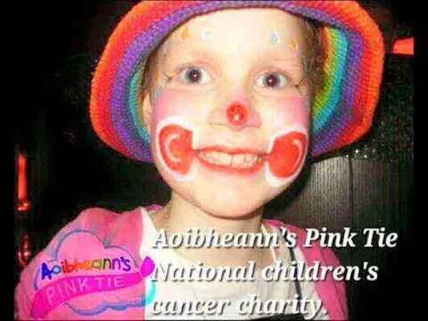 Aoibheann's Pink Tie the Irish national children's cancer ch