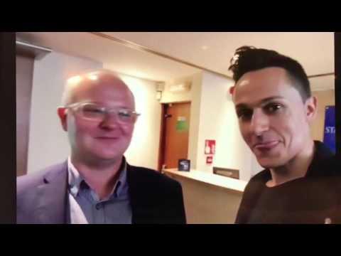 Racing Blogger and Ben Keith at Star Sports, Mayfair