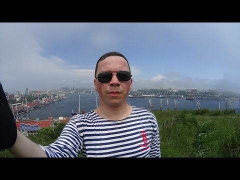 Владивосток велопрогулка сопка Крестовая-Спортивная набережная набережная Цесаревича
