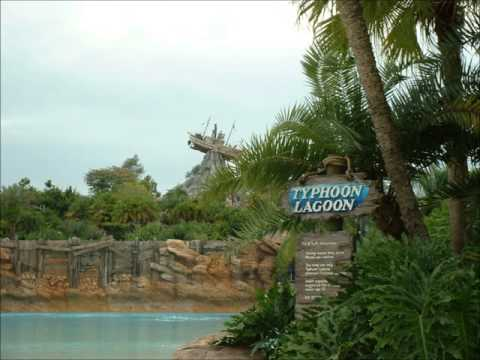 Disney's Typhoon Lagoon Water Park Atmospheric Background Music Loop (2/4)