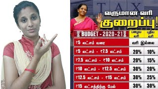 New Income Tax rates | Budget 2020 | New Income tax slab | Income tax calculation |