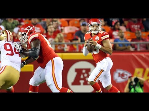 Patrick Mahomes vs 49ers (Preseason Week 1) - 49 Yards + TD! | 2017-18 NFL Highlights HD