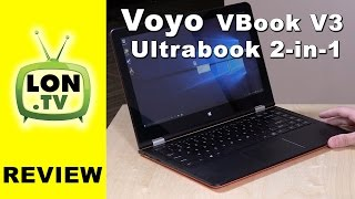 VOYO VBook V3 Ultrabook 2 in 1 Review  - Cheap $250 (or less) Laptop / Tablet Computer
