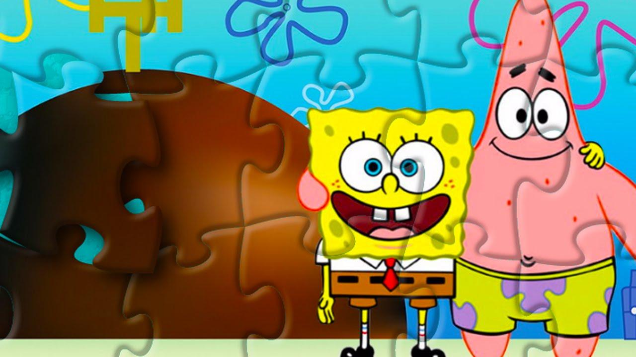 SpongeBob Puzzle Game For Kids