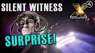 Gambar cover NASTY SURPRISE IN SILENT WITNESS  - Split Vendetta Gameplay - X4: Foundations Part 9