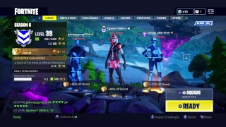 Playing fortnite with funny players