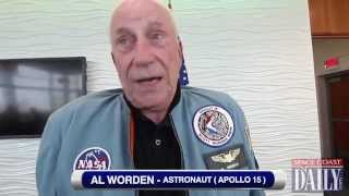 "Astronaut Al Worden & ""Voice of Nasa"" Hugh Harris"