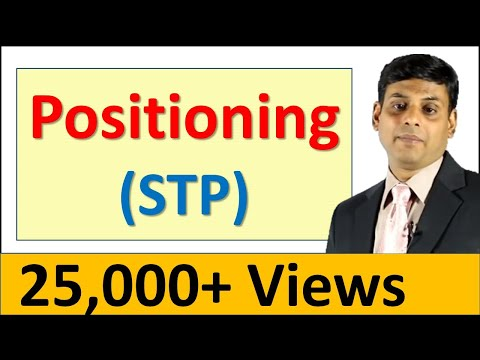 14. Positioning - OER Marketing Video Lecture by Prof. Vijay Prakash Anand