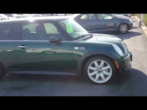How to open your hood on a Mini Cooper