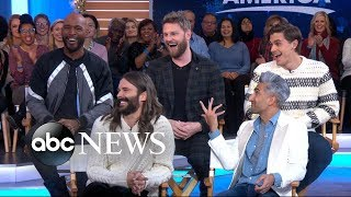 The Fab 5 from 'Queer Eye' spill secrets from their hit show
