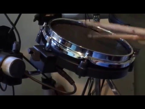 8 inch snare drum build rubber to mesh head youtube. Black Bedroom Furniture Sets. Home Design Ideas