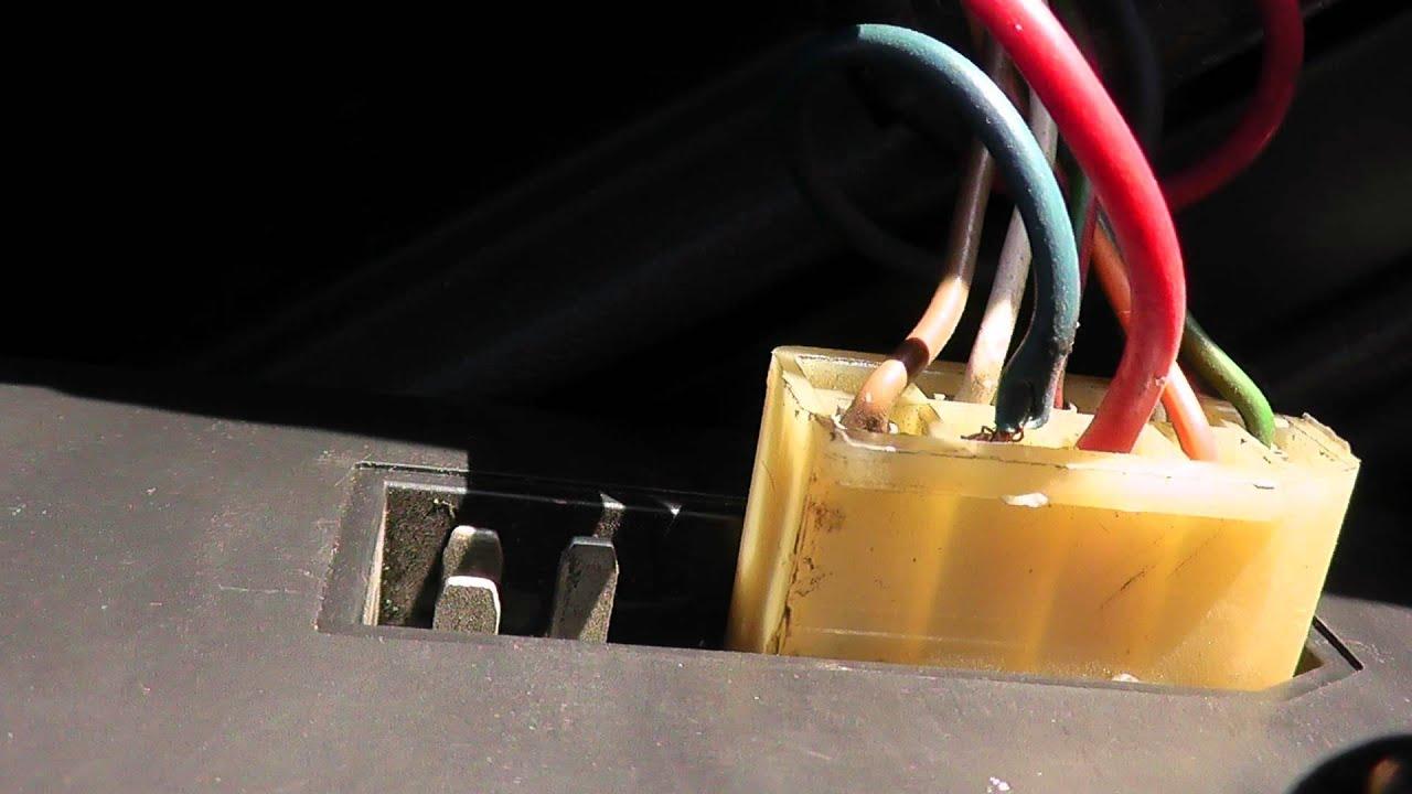 схема подключения электро педали на ваз 2115