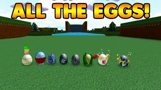 HOW TO GET ALL THE EGGS! | Build A Boat For Treasure ROBLOX