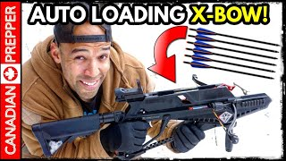 Amazing New Crossbow Invention! Auto-Loader!