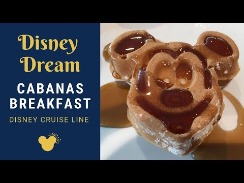 Disney Dream - Cabanas Breakfast Walkthrough