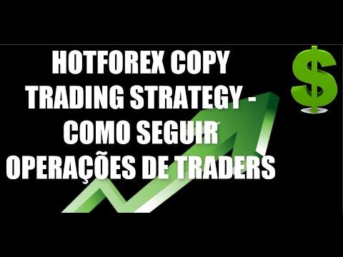 HOTFOREX COPY TRADING STRATEGY - COMO SEGUIR OPERAÇÕES DE TRADERS