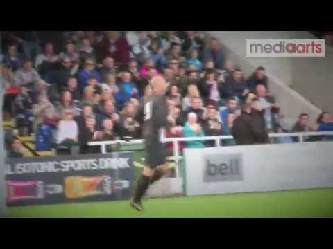 Alan Shearer's Goal From The Entertainers 20th Anniversary Game (9/10/16)
