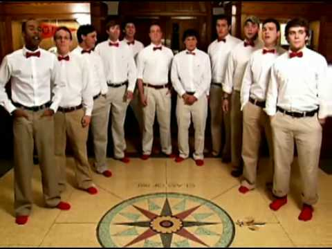 """Rhodes College's Woolsocks perform  """"Carry On Wayward Son"""""""