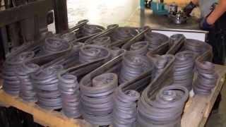 Как делают металлические ограды(, 2012-06-14T05:35:00.000Z)