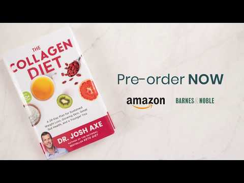 Pre-Order The Collagen Diet | Tips for Weight Loss and Renewed Youth | Dr. Josh Axe