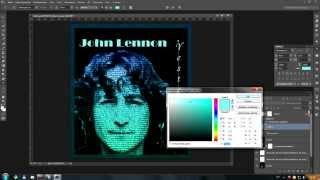 Как сделать постер в Photoshop CC.