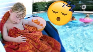 PASSED OUT AT POOL PARTY!!!