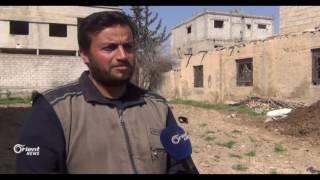 مشروع لزراعة الحدائق المنزلية في الغوطة الشرقية