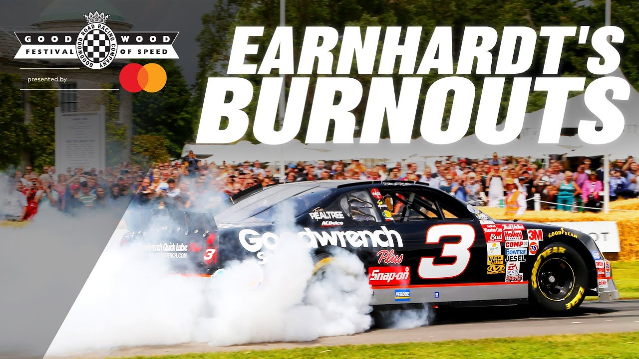 Earnhardt smokes out Goodwood in iconic #3 Chevy