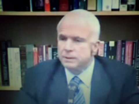 MORON MCCAIN IS A SOCIALIST-GIVE ONLY BIG BUSINESS WELFARE