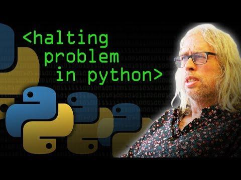 Halting Problem in Python - Computerphile