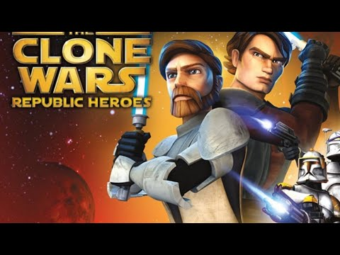 Star Wars The Clone Wars Republic Heroes часть 2 (стрим с player00713)