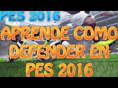 TUTORIAL DEFENSA - PES 2016