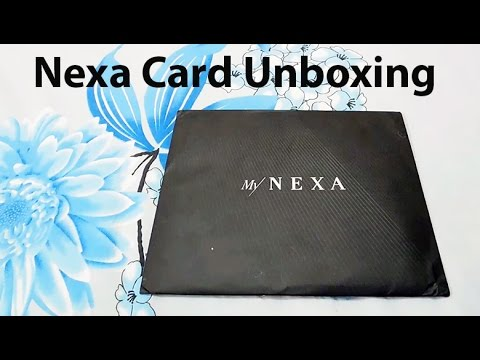 Nexa Card Unboxing - Maruti Suzuki India [Hindi]