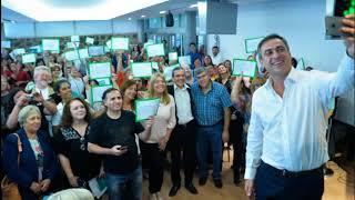 Recibieron sus certificados 150 emprendedores sociales que la Municipalidad capacitó durante 2017