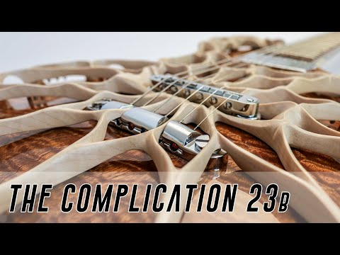 Making a CRAZY Custom Guitar - the Most Complex electric Guitar Ever? Super Edit pt 2