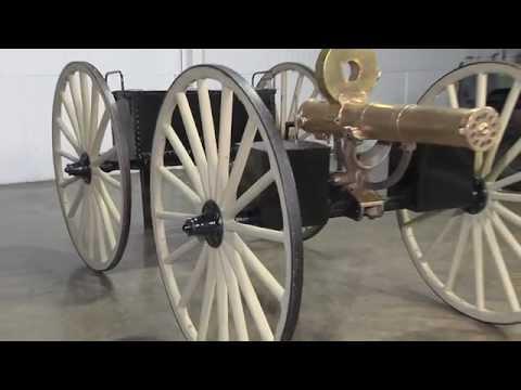 Original Colt M1883 Gatling Gun At April Auction