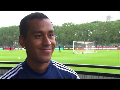 Tapia was nerveus voor de reactie van het Feyenoord-publiek