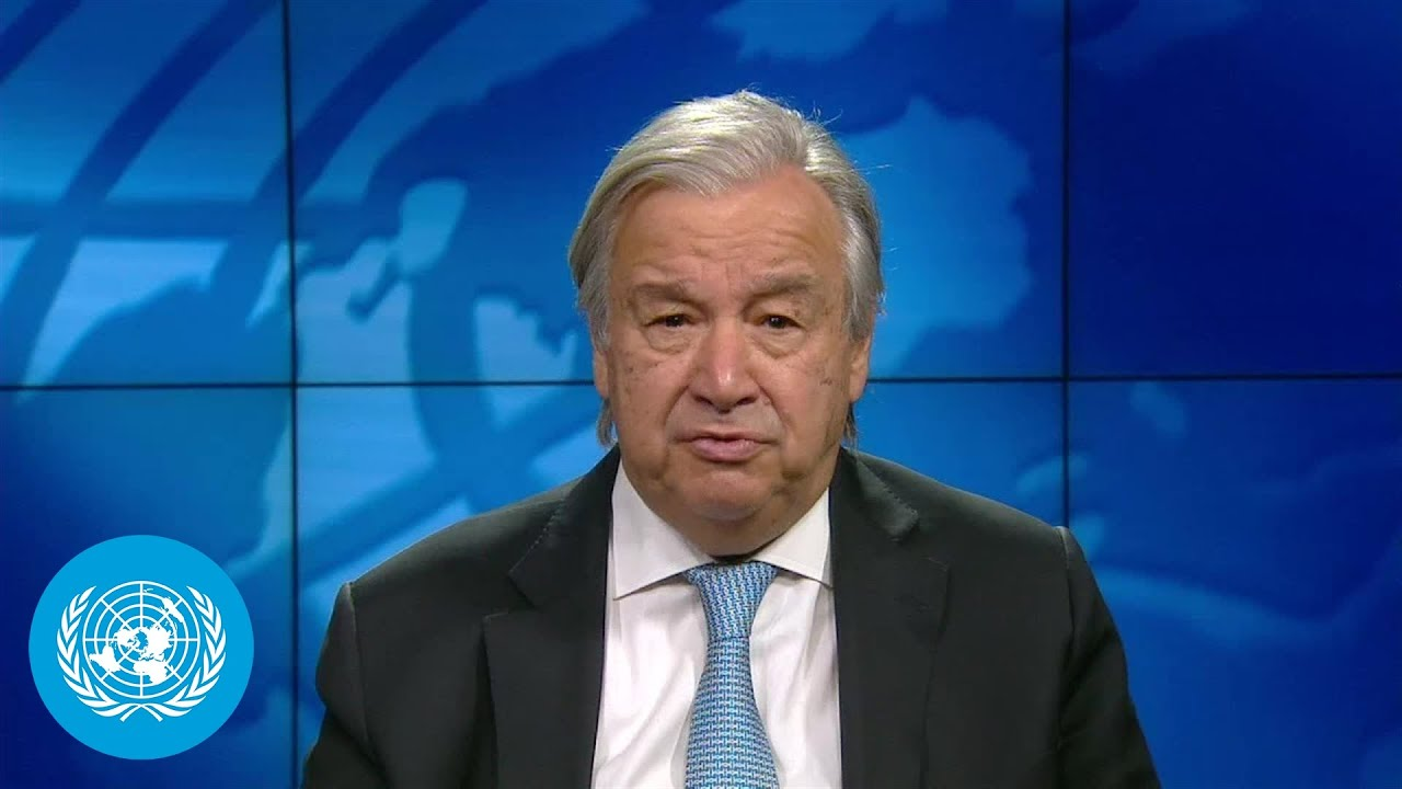 Climate Action – UN chief to the European Council on Foreign Relations
