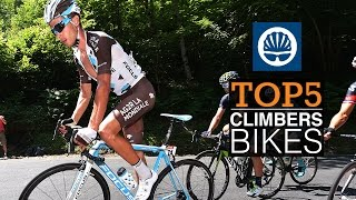 Top 5 - Tour de France Climbers' Bikes