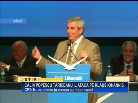 Calin Popescu Tariceanu il ataca pe Klaus Iohannis