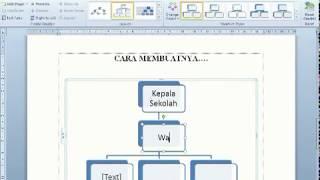 Membuat Struktur Organisasi di Words 2010