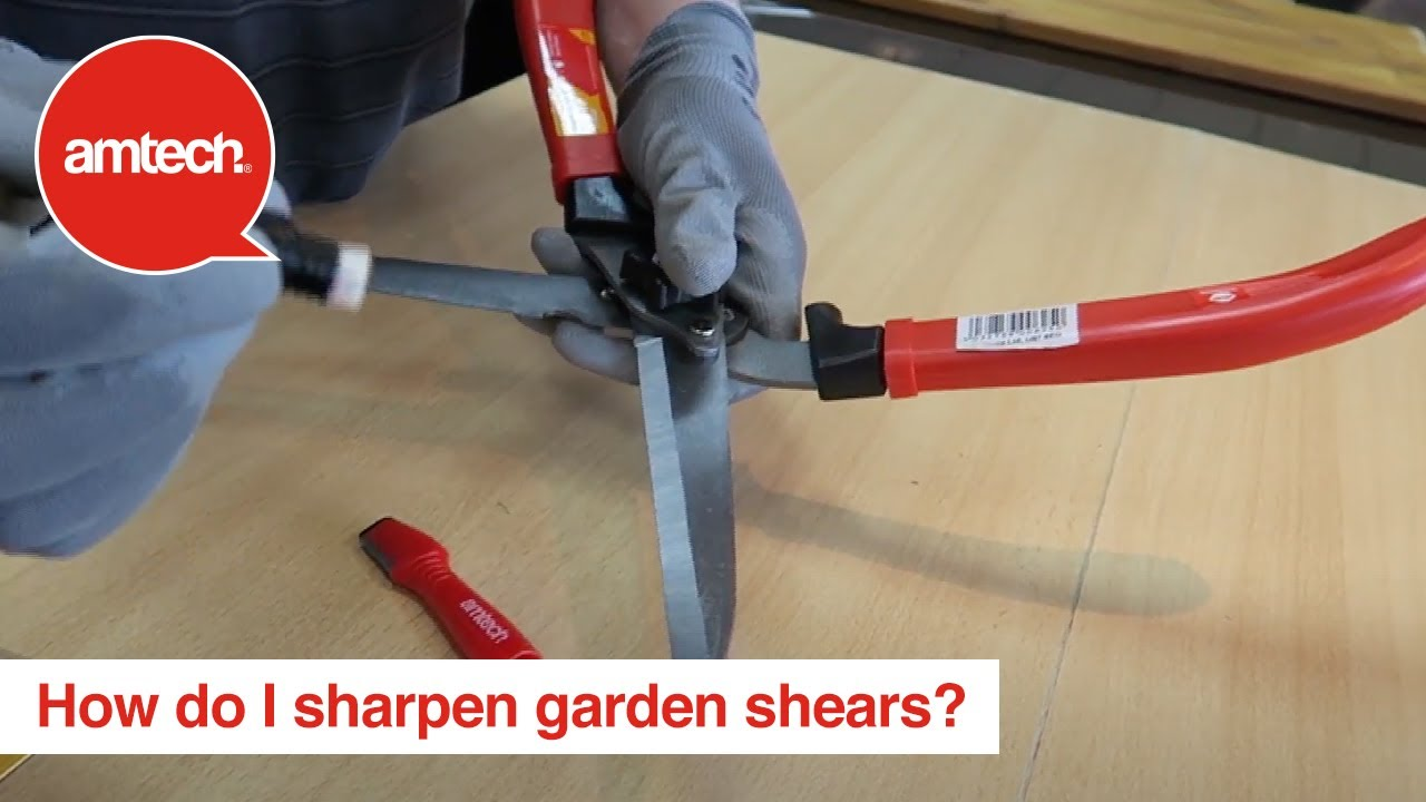How To Sharpen Hand Shears